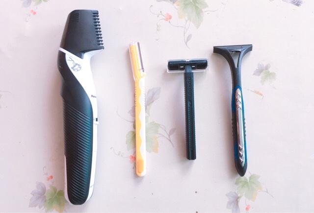 脇毛の処理方法:カミソリ・シェーバー