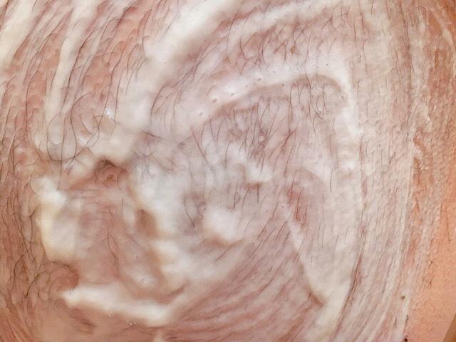 除毛クリームを塗りケツ毛が溶けるまで5~10分待つ